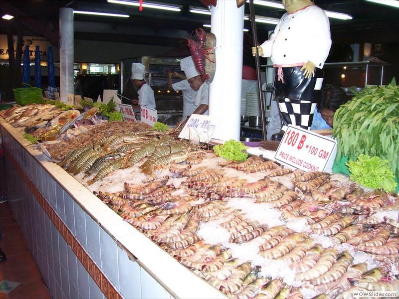 restaurant fish - phuket, thailand