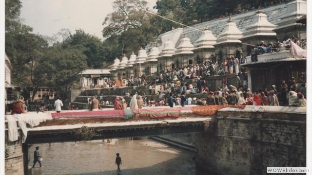 temple area and festival - kathmandu